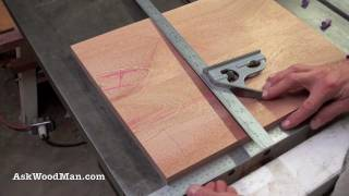 Table Saw Tip #4: How To Check Squareness - Woodworking Diy