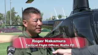 Fontana Police Department Aerial Training Event