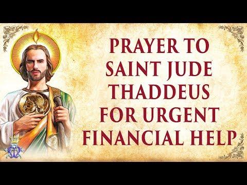 Prayer to Saint Jude Thaddeus for Urgent Financial Help