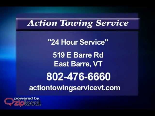 Action Towing Service - (802) 476-6660