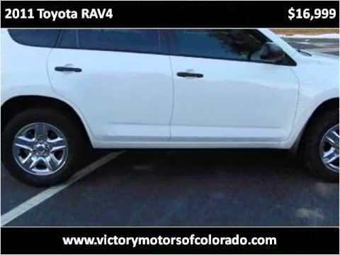 2011 toyota rav4 used cars longmont co youtube for Victory motors trucks longmont