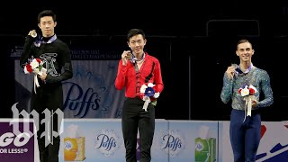 Chen, Zhou, Rippon: Get to know the U.S. Olympic men's figure skaters