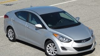 2011 Hyundai Elantra Review, Walk Around, Start Up & Rev, Test Drive