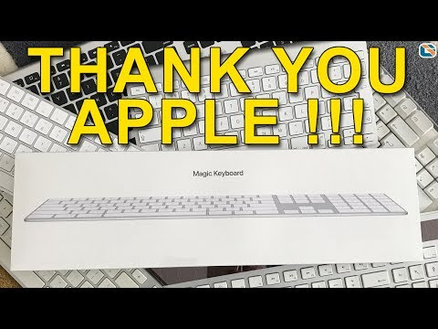 Apple Magic Keyboard with Numeric Keypad Review - AT LAST !!!