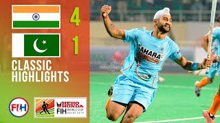 India v Pakistan | Men's Hockey World Cup 2010 | Classic Highlights