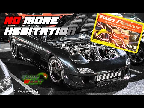 How to fix the hesitation and backfire at WOT! - HKS Twin Power - RX7 FD R2