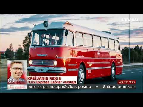 """Telefonintervija ar Krišjānis Reķi, """"Lux Express Latvia"""" vadītāju"""