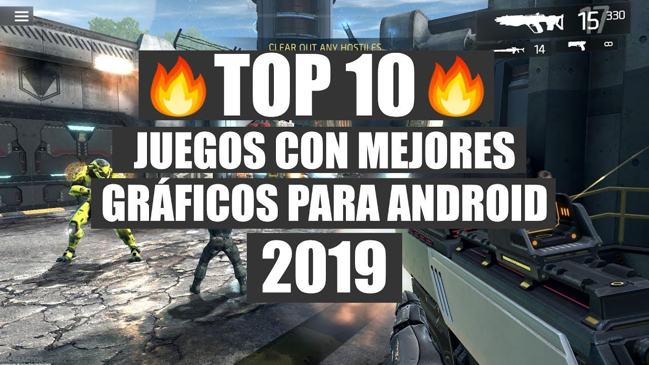 Top 10 Juegos Con Mejores Graficos Hd Android 2019 Youtube