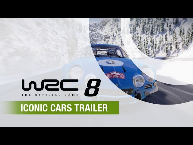 WRC 8 | Iconic Cars Trailer