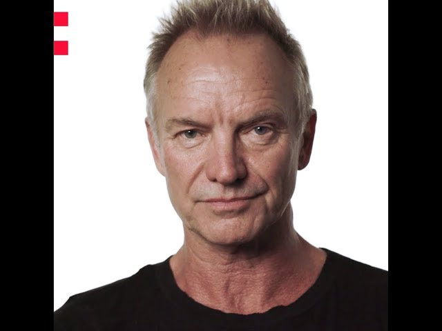 Frame of a video of Sting speaking about the Odyssey project