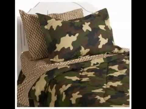 Camouflage bedroom design decorating ideas