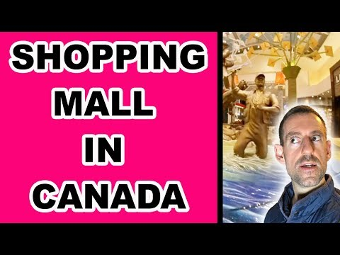 CANADIAN SHOPPING MALL