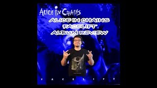 Alice In Chains - Facelift (1990) Album Review