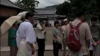 賀茂神社の八朔のひな祭りと献茶式