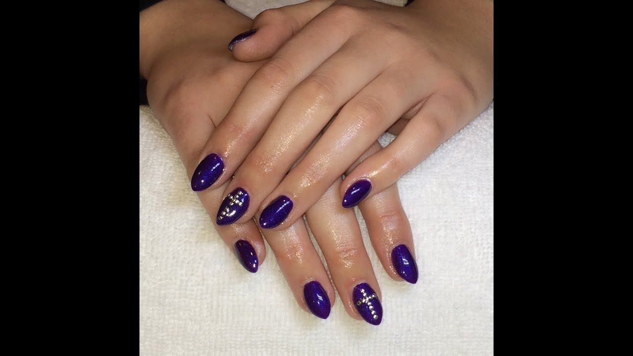 Nail Colors Youtube: Ibd Just Gel Polish In Pixie Pop With Nail Art