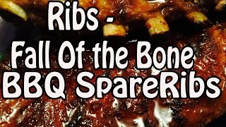 Ribs - Ultimate Fall Off The Bone - Rubbed, Grilled, Glazed With Instant Pot Pressure Cooker
