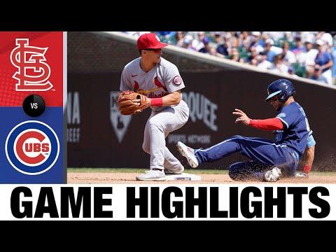 Cardinals Vs. Cubs Game Highlights (7/10/21)   MLB Highlights