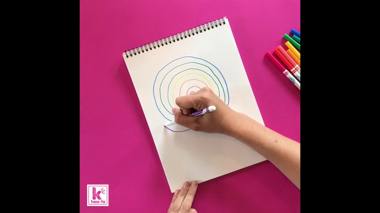 Kazoo How To: Draw a Labyrinth