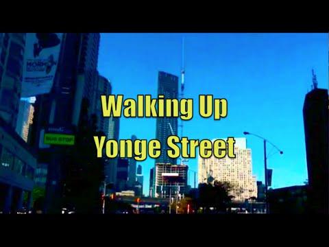 Walking Up Yonge Street - Toronto