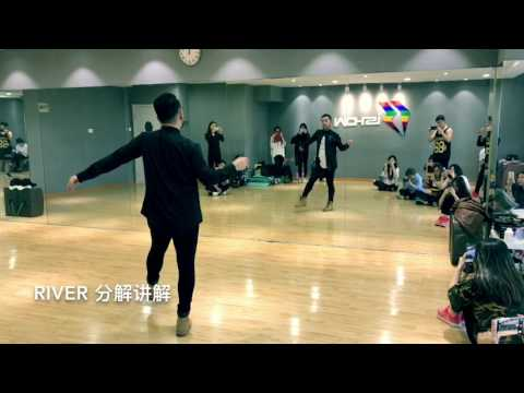 Bishop Briggs River   Galen Hooks Choreography   Dance cover and Tutorial   Jazz Kevin Shin