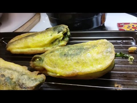 Chiles Rellenos (Mexican Style Stuffed Peppers) - YouTube