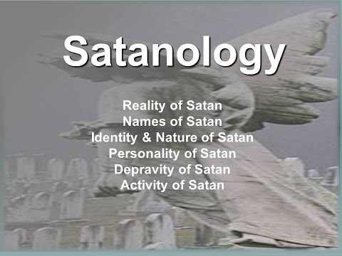 angelology and satanology