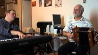 Réjan Simard, accordeon – Steve Normandin, piano
