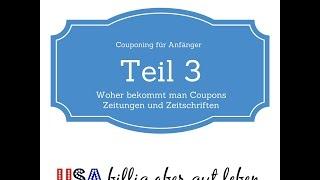 couponing teil 3 - Coupons aus Zeitungen