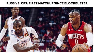 Chris Paul Returns To Houston, Russell Westbrook Takes The W   Russ vs. CP3 Highlights