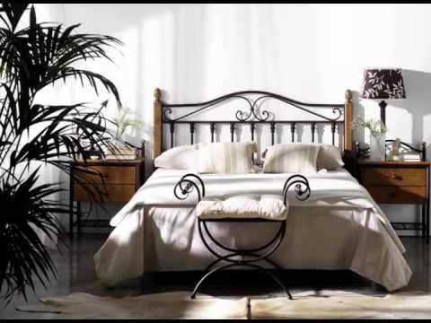 Muebles rusticos y dormitorios de matrimonio en forja
