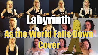 Labyrinth As The World Falls Down - David Bowie Cover w/Alicia Renée & Jaron Davis
