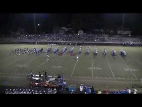 Spring Hill High School Band, October 8, 2010, Henderson, Texas