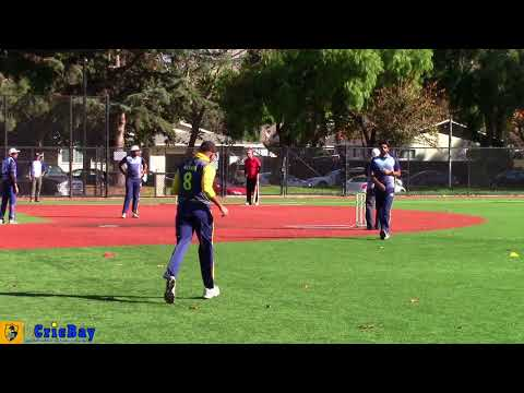 Cricbay - Super Chargers Vs Berkeley Machis - 2017 CricBay Fall Open
