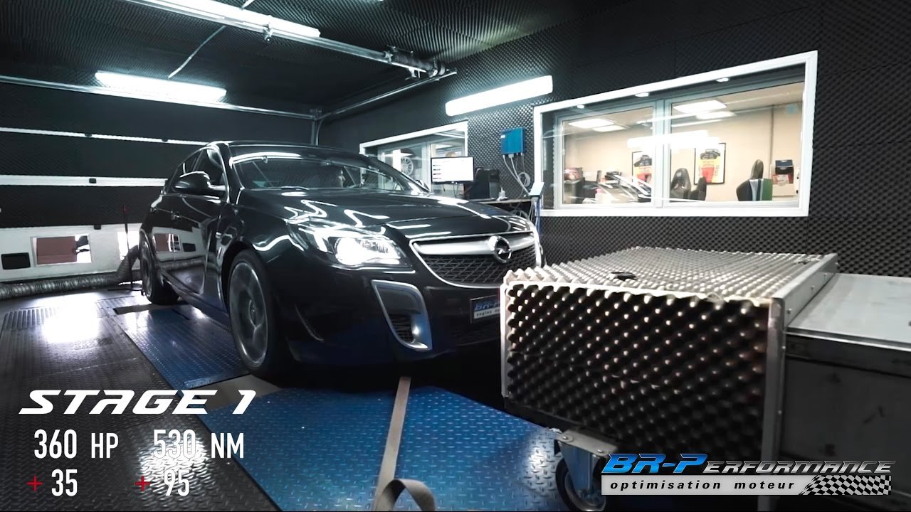 Garage Opel Luxembourg Opel Insignia 2 8 Turbo Opc Stage 1 By Br Performance
