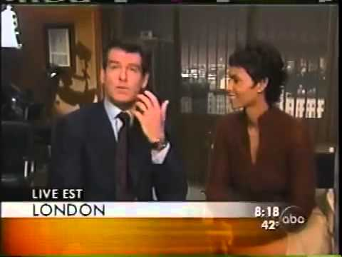 """Good Morning America - Pierce Brosnan & Halle Berry """"Die Another Day"""" 2002"""