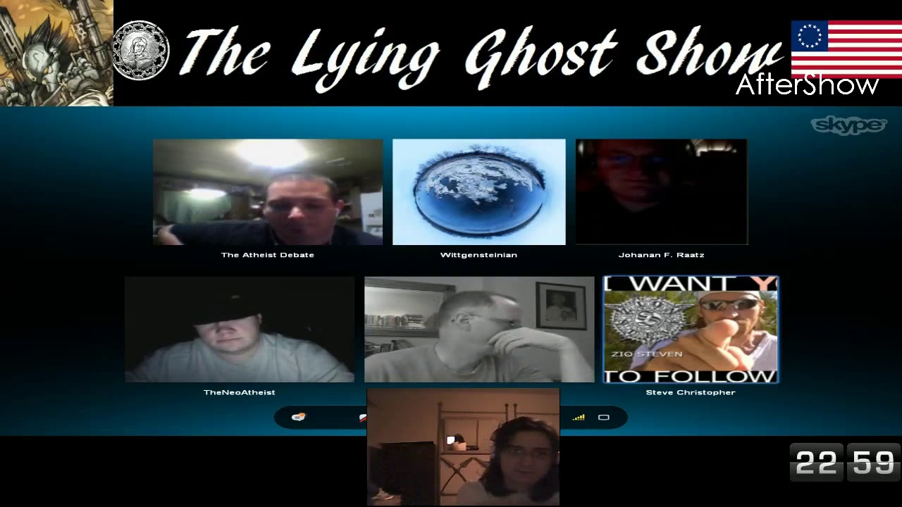 Educating Atheists - The Lying Ghost Show (2013) - Lord Steven Christ's Concave Earth