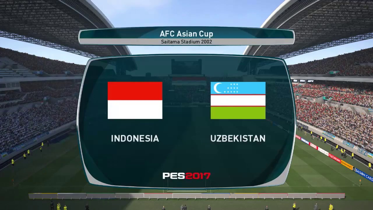 PES 2017 | Indonesia Vs Uzbekistan [HIGHLIGHT & GOAL ...