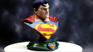 Superman Bust Finished