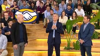 El presidente Mauricio Macri inaugura el centro de desarrollo de MercadoLibre