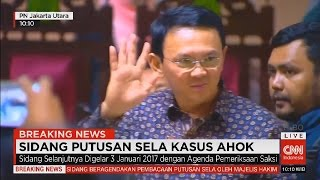 Video Keberatan Ahok Ditolak Hakim, Sidang Putusan Sela Kasus Ahok - FULL download MP3, 3GP, MP4, WEBM, AVI, FLV November 2017