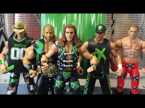 WWE Mattel Best Of The Attitude Era Triple H Elite Wrestling figure DX Flashback