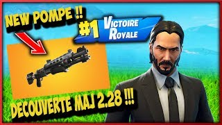 🔴FORTNITE MAJ 2.28 NEW POMPE !!!! GO THE 1K7!! CLEANCODE:Toxiik-YTB✔️🔴