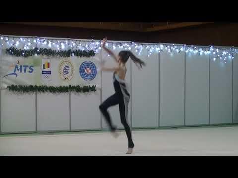 Denisa Mailat CSA Steaua Bucuresti Gala Gimnasticii Ritmice 17 December 2017