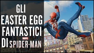 20+ EASTER EGG E SEGRETI DI MARVEL'S SPIDER-MAN (PS4)