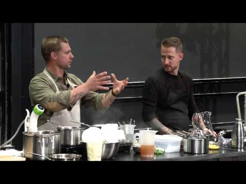 Bryan and Michael Voltaggio: Emulsions and Foams, Science and Cooking Public Lecture Series 2015