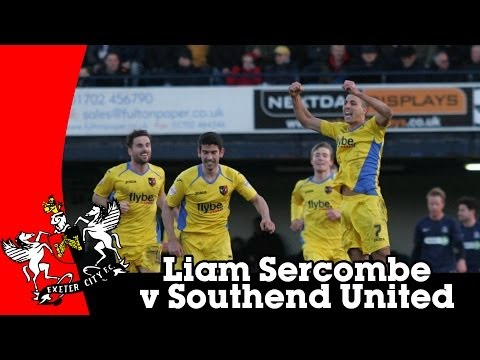 Liam Sercombe v Southend United | Exeter City Football Club