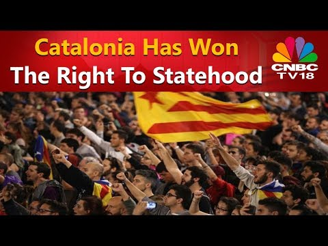 Catalan Referendum: Catalonia Has Won The Right To Statehood | CNBC TV18