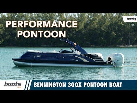 Bennington 30QX Pontoon