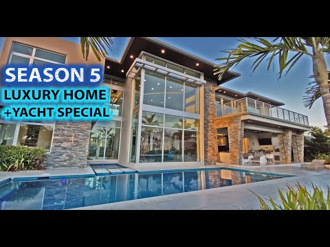 Season 5: ULTRA Lux Homes + Yachts of South FLORIDA! | 1 HOUR of Luxury TV