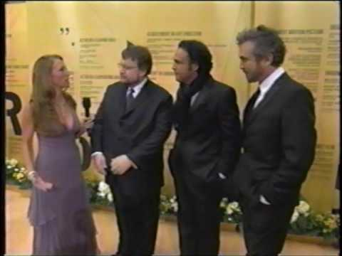 """Road to the Oscars 2007 Red Carpet Interview with the """"Three Amigos"""" Directors"""
